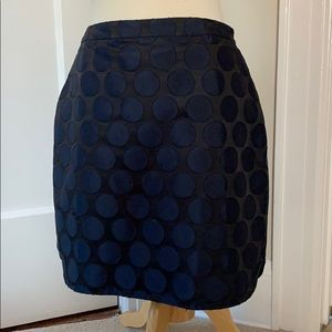 Boden polka dot skirt with pockets! Size 8R.